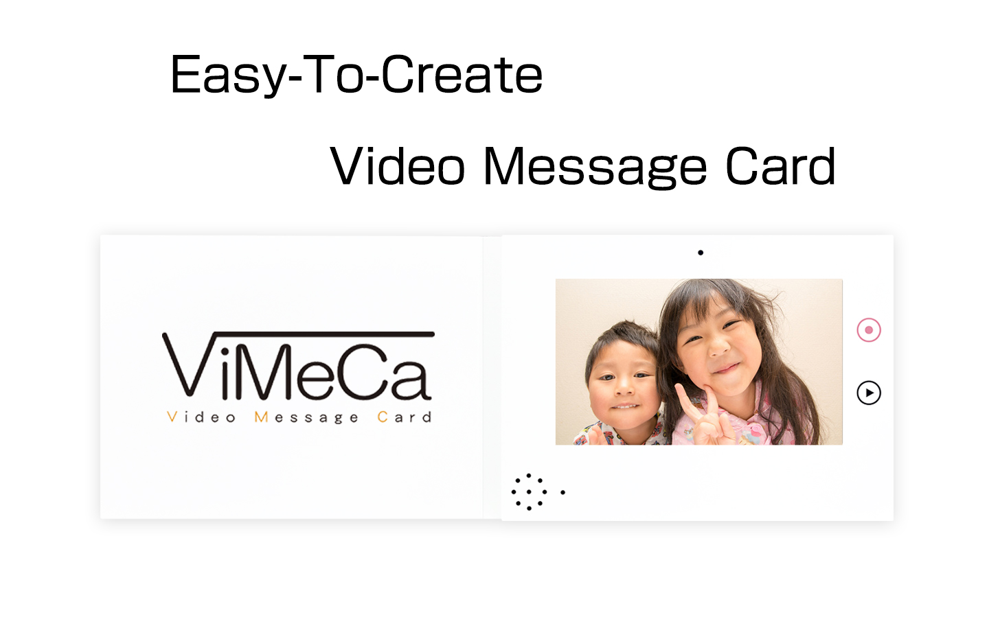 Easy To Create Video Message Card